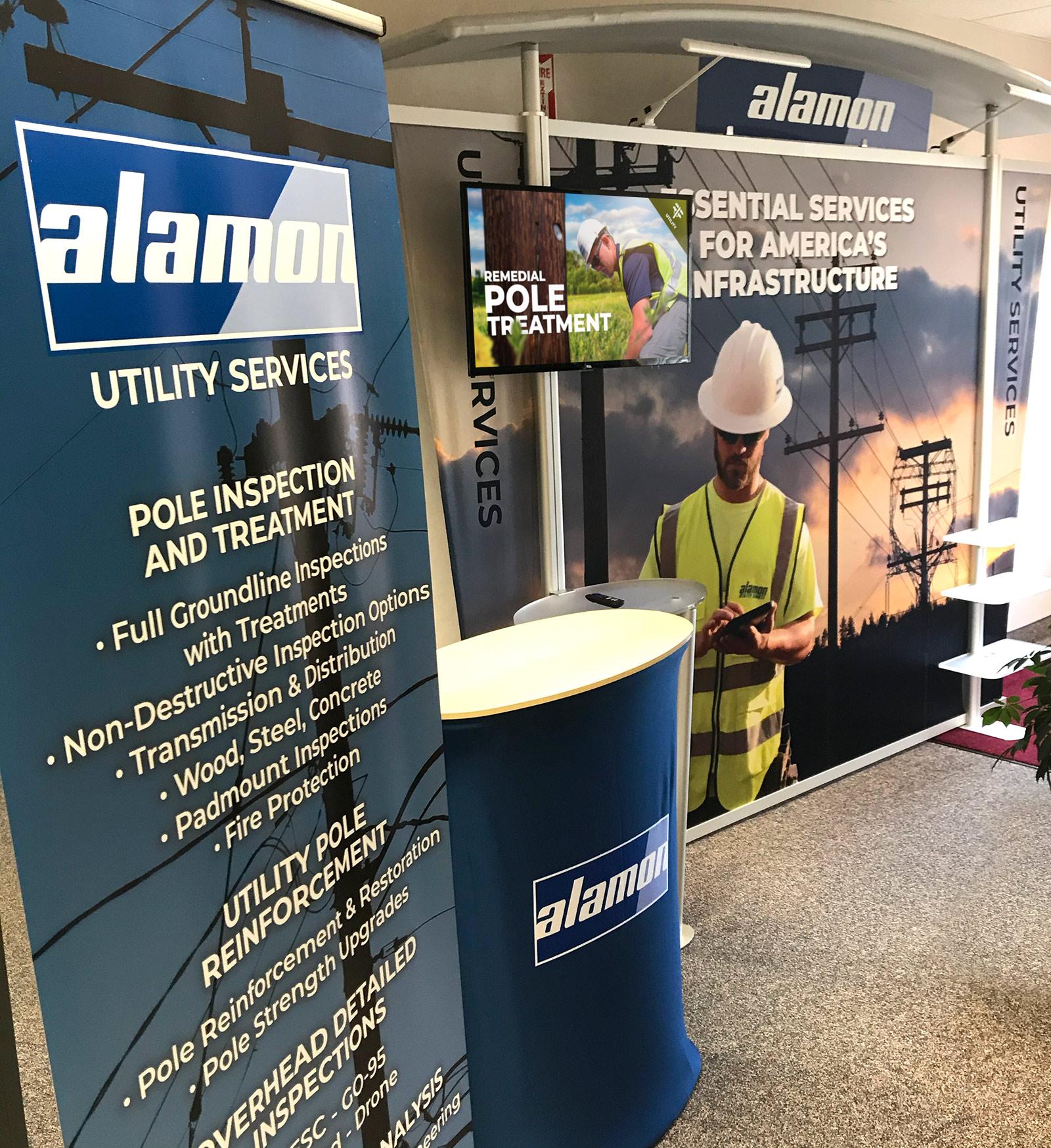 Alamon Trade Show Display