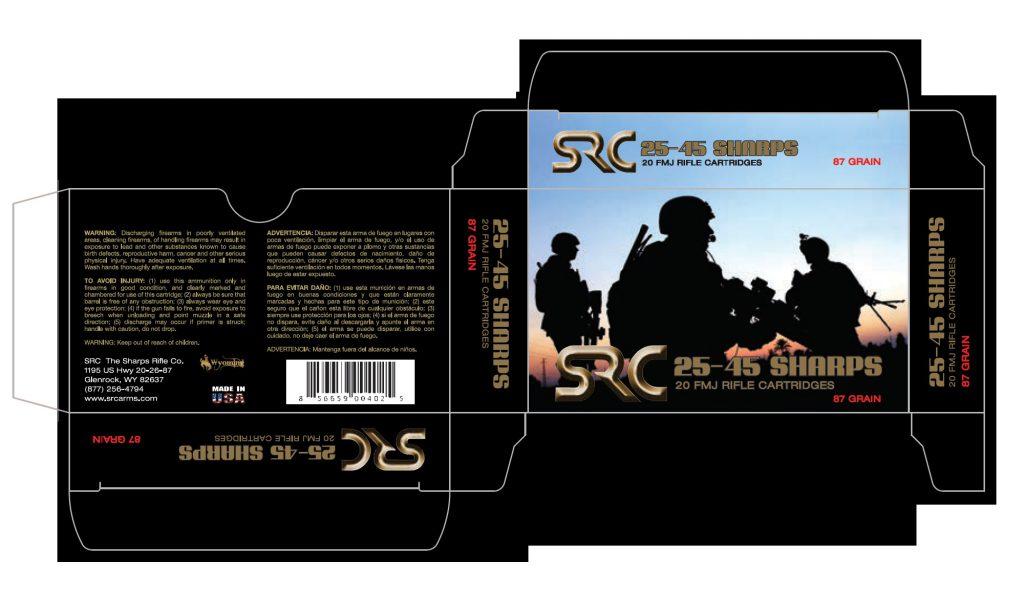 Sharps Rifle Company Packaging