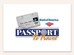 Alaska Airlines Passport to Travel Branding