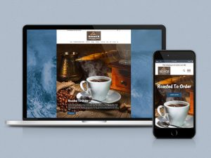 Amrita Certified Pure Coffee Website