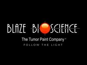 Blaze Bioscience Tumor Paint