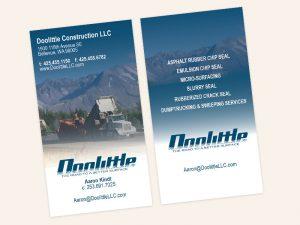 Doolittle Construction Business Cards