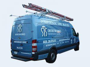 STS Construction Vehicle Wrap