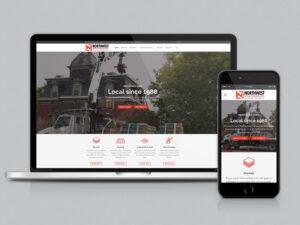 Northwest Drywall & Roofing Supply Website